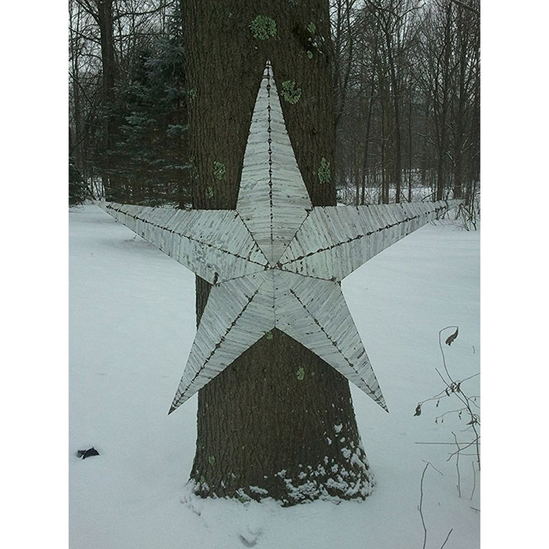 "48"" Handmade Tin Star"