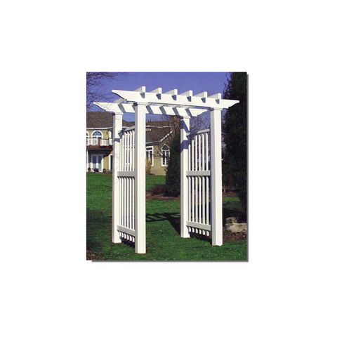 Bufftech Vineyard Pergola Arbor