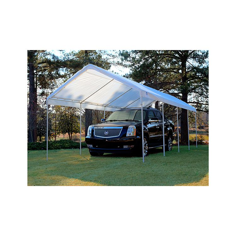 King Canopy 10' x 27' Universal Canopy 10 Leg - White - 147 lbs.