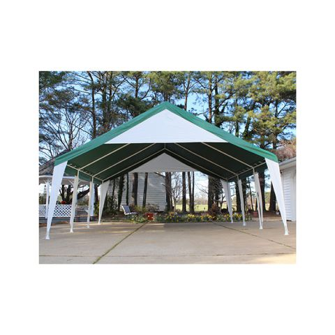 King Canopy 20' x 20' Event Tent Party Canopy - Green/White