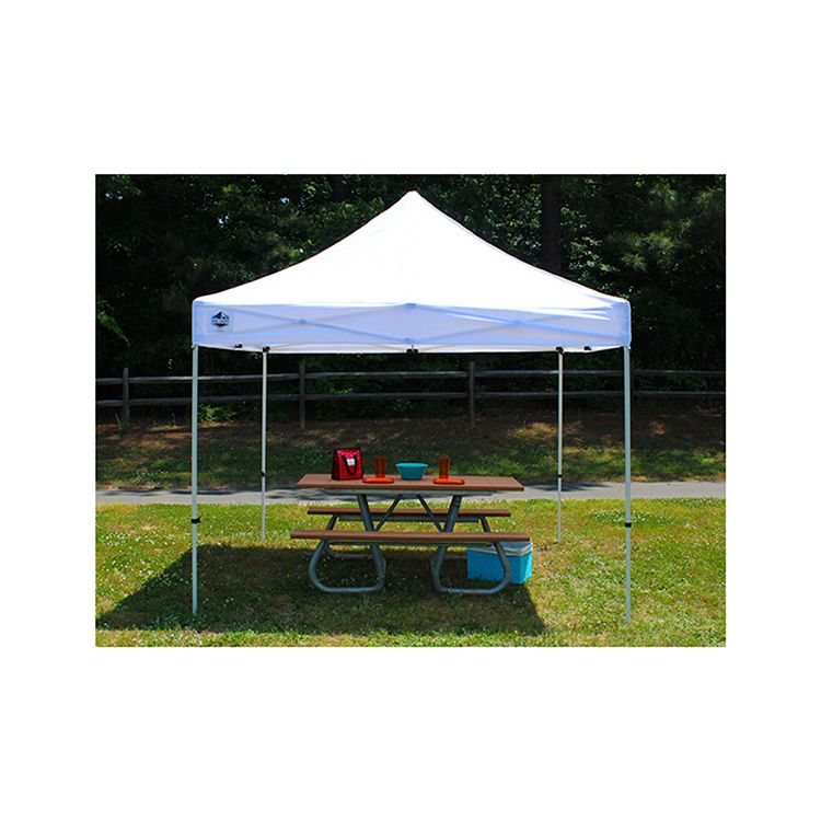 King Canopy 10' x 20' Festival Canopy - White - 93 lbs.