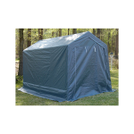 King Canopy 7' x 12' Heavy Duty Small Storage Shed (G0712-P)
