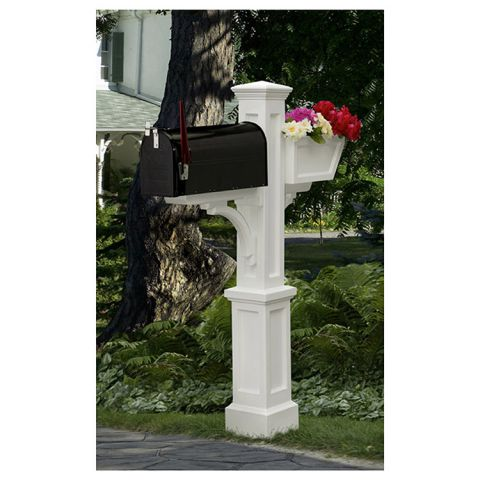 Mayne Westbrook Plus Mailbox Post