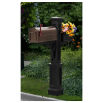 Mayne Westbrook Plus Mailbox Post (M-WMP-P)