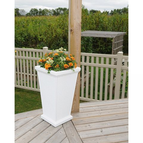 "Mayne Wellington 28"" Tall Planter"