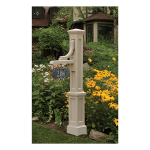 Mayne Woodhaven Sign Post (M-WSP-P)