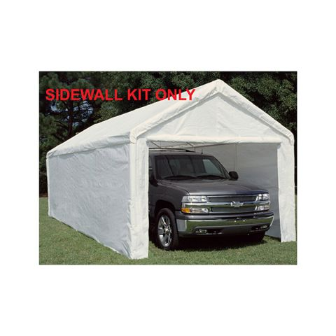 King Canopy Side Wall Kit w/ Flaps for 10' x 27' Models