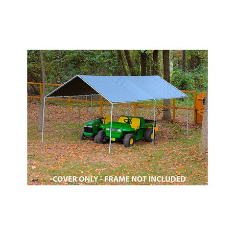 King Canopy Tarp Cover w/o Drawstrings for 10' x 20' Model