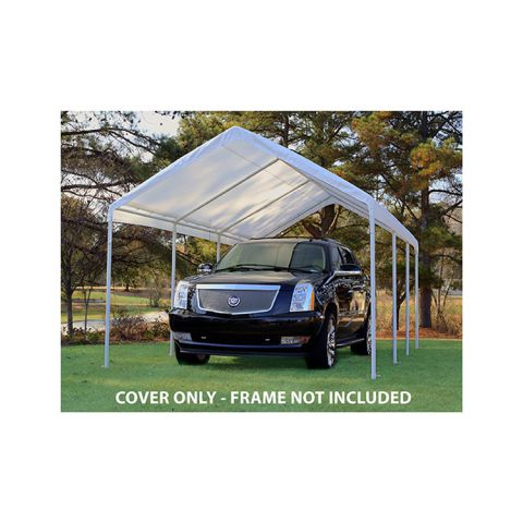 King Canopy Replacement Tarp Cover w/ Drawstrings for 10' x 20' Model