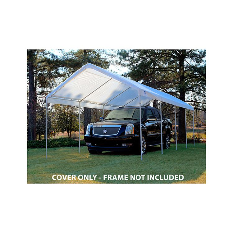 King Canopy Replacement Tarp Cover w/ Drawstrings for 10' x 27' Model
