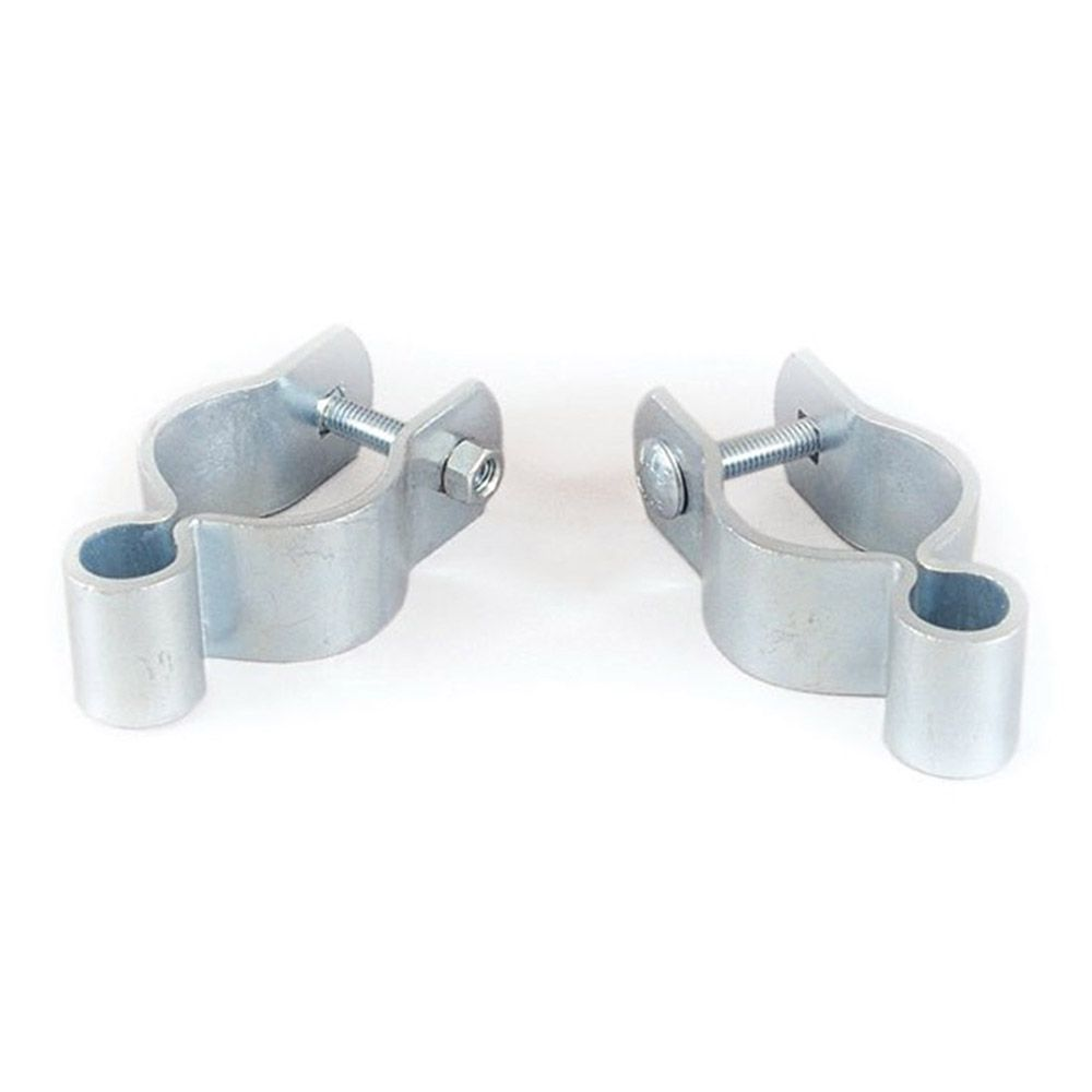 "Tarter 1-3/4"" Galvanized Female Strap Hinge Fits 5/8"" Pin - Includes (1) Carriage Bolt and (1) Hex Nut"