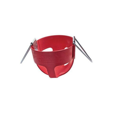 Gamecraft 360 Degree Enclosed Swing Seat For Infants - Red