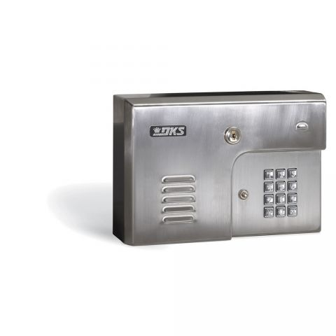 DoorKing Telephone Intercom - stainless, wall-mount