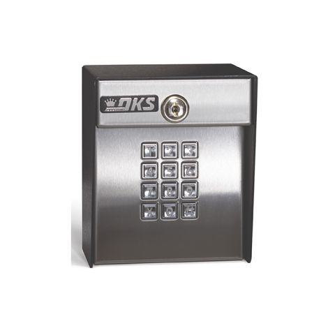 DoorKing Digital Keypad w/Light - Weigand Output
