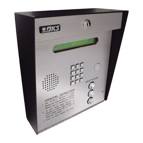 DoorKing 1835 Flush Mount Telephone Entry System