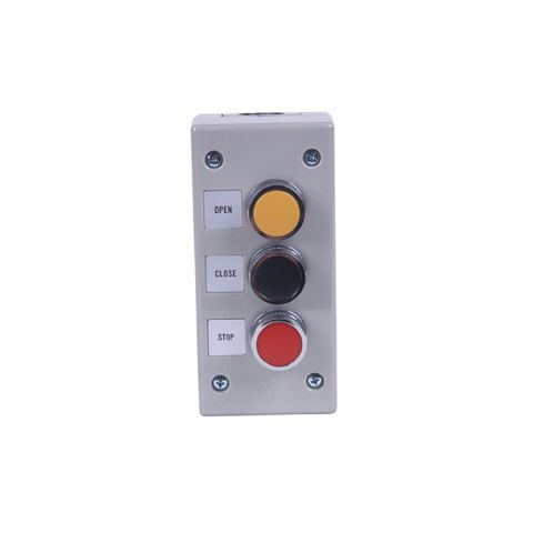 Exterior 3-button Station, open-close-stop, NEMA enclosure