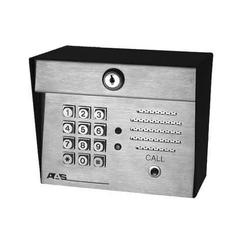 AAS Advantage DK Digital Keypad with Intercom - 1000 Code, Post Mount
