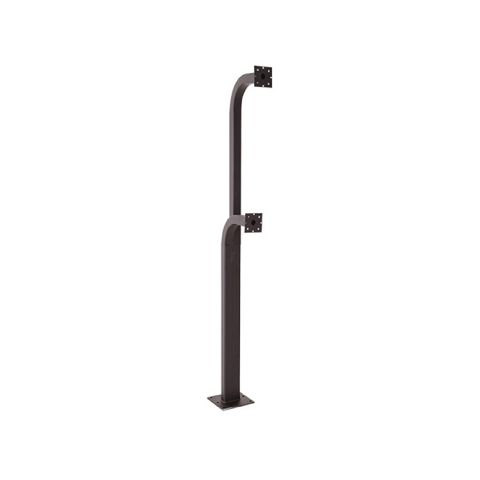 "DoorKing Standard Dual Height Surface Mount Gooseneck - 72""L/42""L"