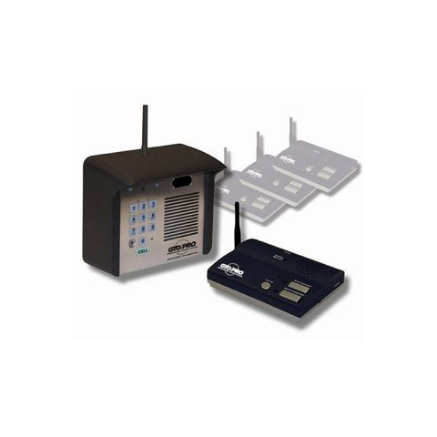 GTO Residential Wireless Intercom - Exterior Unit Only
