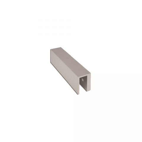"Securitron Glass Door Bracket 2"" x 5-1/2"" x 1/2"""