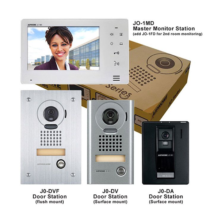 Aiphone JOS-1F Hands-free Color Video Enhanced System - JO-1MD, JO-DVF, PS-1820UL