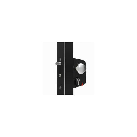 Locinox Electrical Industrial Lock for Swing Gates - Black