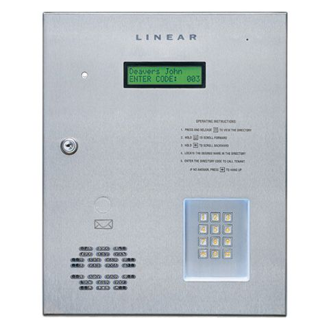 Linear AE-100 Commercial Telephone Entry System
