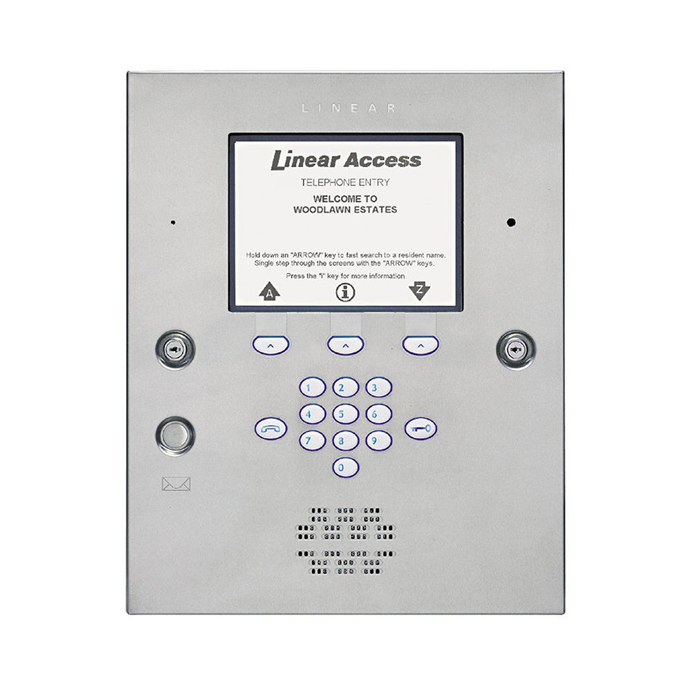 Linear AE2000PLUS Commercial Telephone Entry System with Access Control