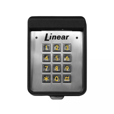 Linear Exterior Digital Keypad - Stand Alone