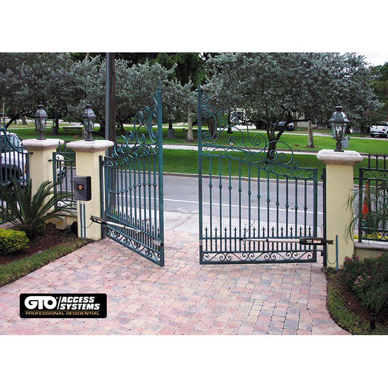 Gto 12 Volt Swing Gate Operator 650 Lbs 16 Ft Hoover