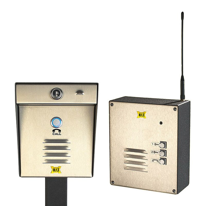 Maximum Controls AeroMax 200-100S Wireless Intercom with 100S Indoor Surface-Mount Station