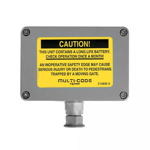 Multi-Code Safety Edge Transmitter
