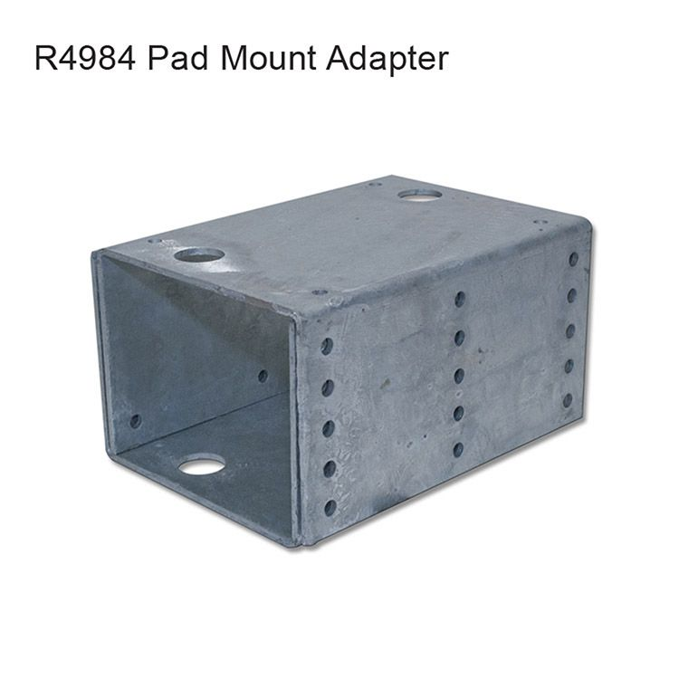 GTO Adjustable Pad Mount Mounting Plate for GPX-SL25 Gate Operator