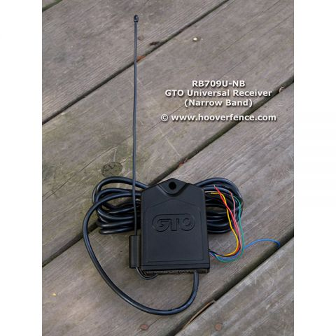 GTO Narrow Band Receiver - 10' Cable (AC Operators)