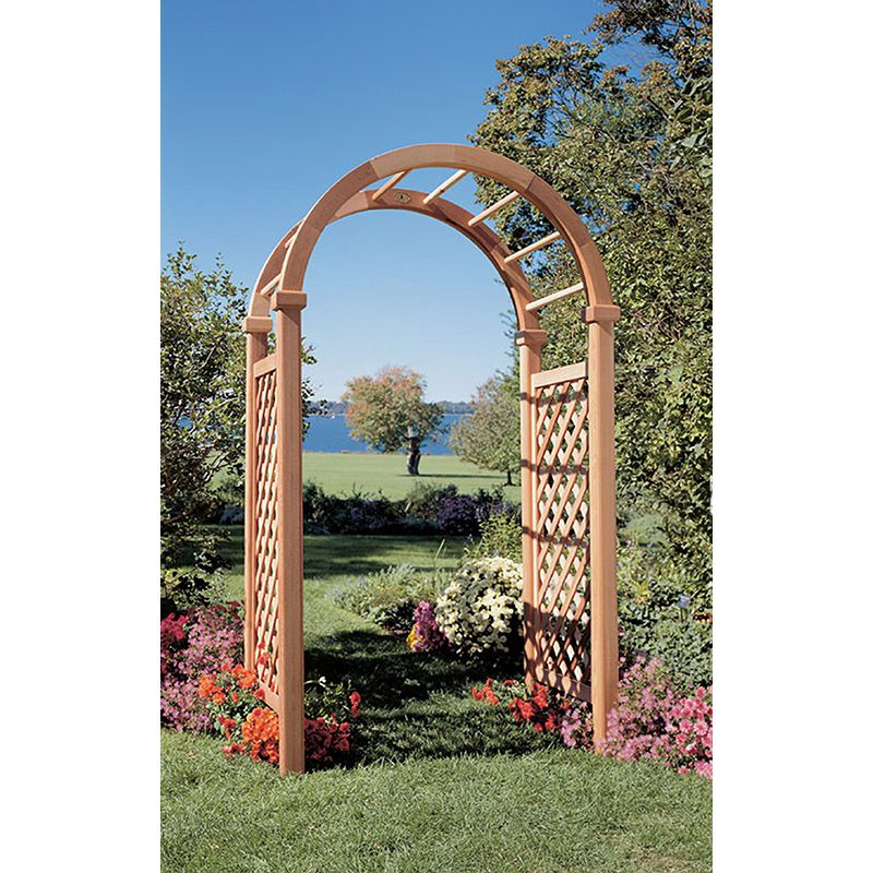 Rustic Cedar Furniture New England Deluxe Arbor