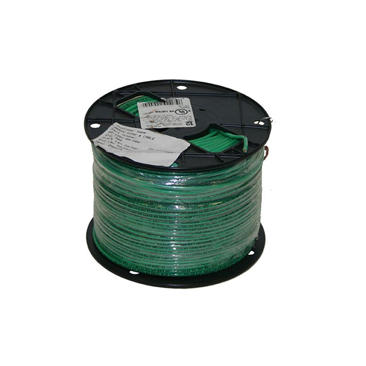 500' box 10 gauge solid ground wire - green