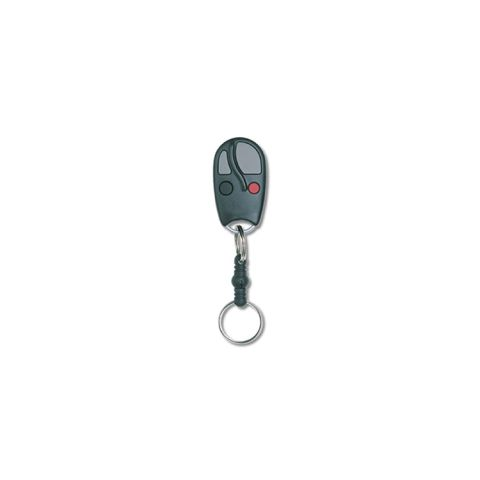 Linear Factory Block Coded Four Button Keychain Transmitter (single)