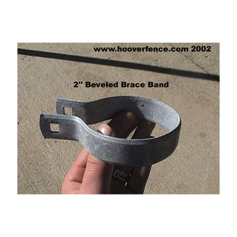 Beveled Brace Bands - Galvanized