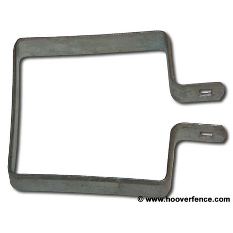 Chain Link Brace Bands, Square - Galvanized