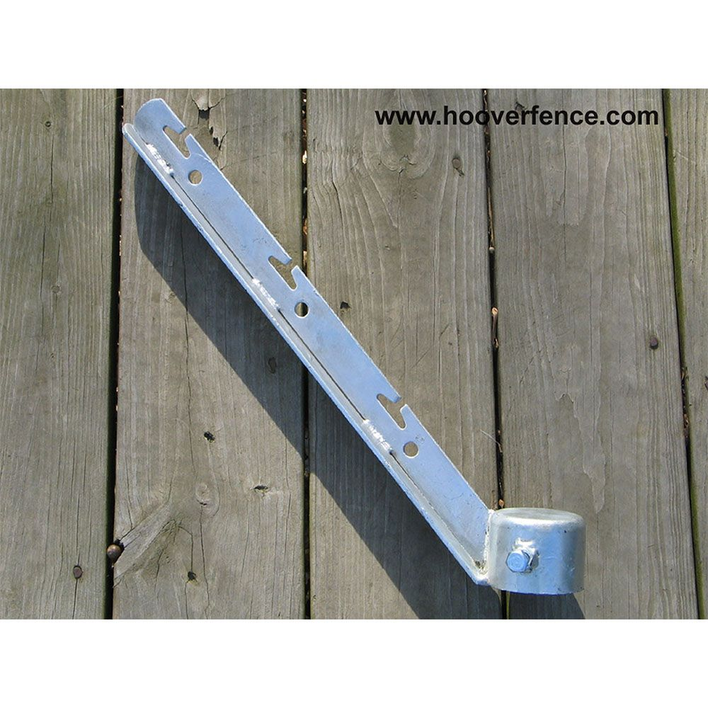 Corner Barb Wire Arms Pressed Steel Hoover Fence Co