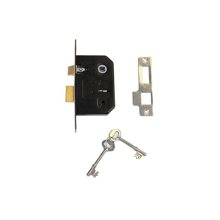 Abbey Trading Mortise Sash Lock - Satin