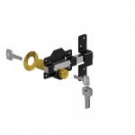 Abbey Trading Double Cylinder Rim Lock (1490186-P)
