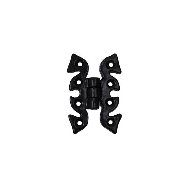 Abbey Trading Pair, Antique Butterfly Hinges - Black
