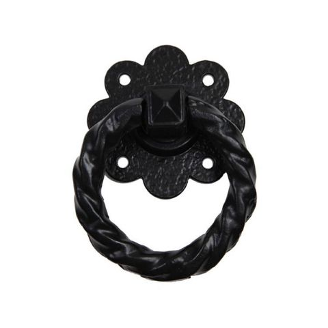 "Abbey Trading 4"" Antique Ring Handle Only - Black"