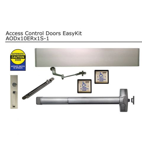 Detex Automatically Operated  EasyKit for Single Doors