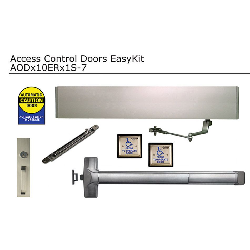 Detex Automatically Operated EasyKit for Doors