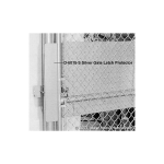 Hoover Fence Add & Install D-6015 Gate Latch Protector (Panic Gate Kits Only) (LAB-D-6015)