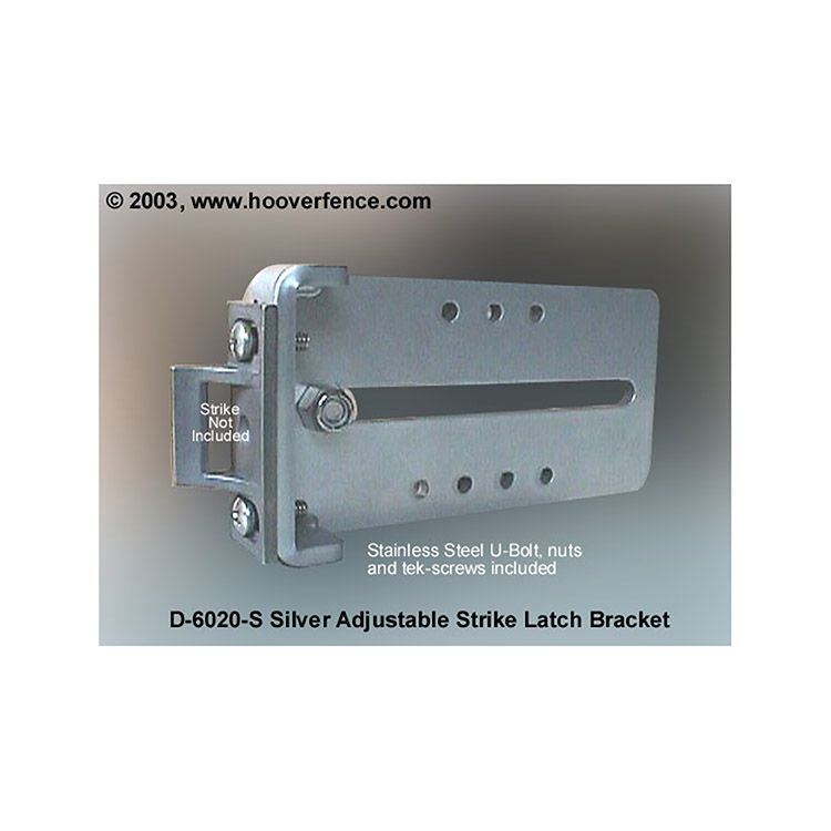DAC Industries Strike Latch Receiver Bracket