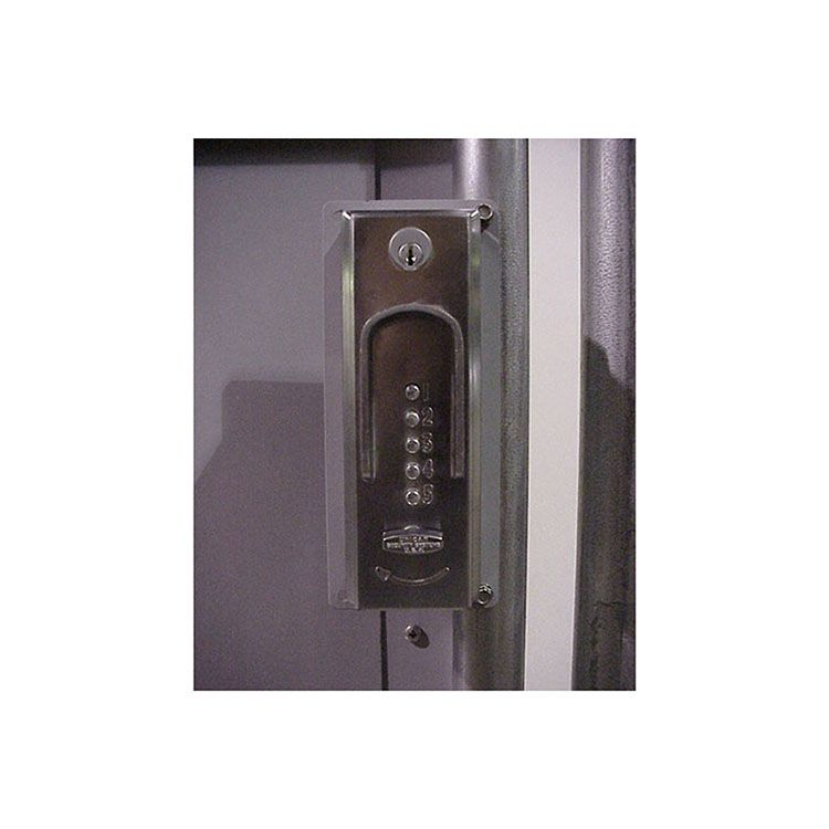 Hoover Fence Add & Install D-6300 Mechanical Combination Lock (Panic Gate Kits Only)