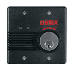 Detex Surface Mount Battery or AC/DC Powered Exit Alarm EAX-2500S (EAX-2500S-P)